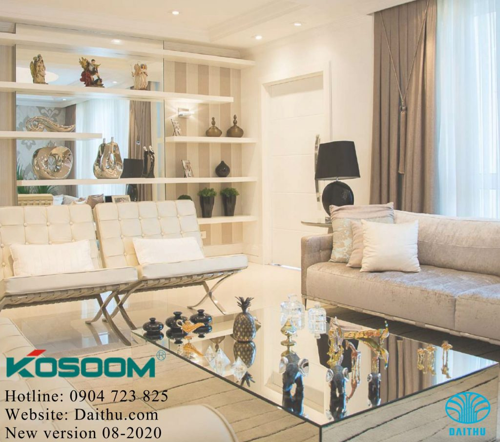 Catalogue đèn led Kosoom mới nhất 2020 - 2021 bản báo giá Led Kosoom full