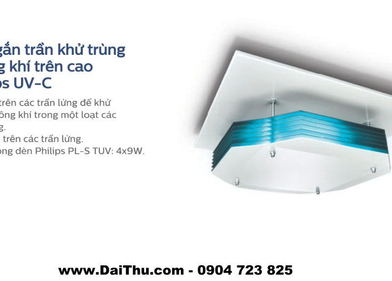 Đèn khử trùng không khí UVC Philips - Gắn trần cao lắp nổi - DaiThu.com - 0904 723 825 - Diệt khuẩn không khí hiệu quả 1
