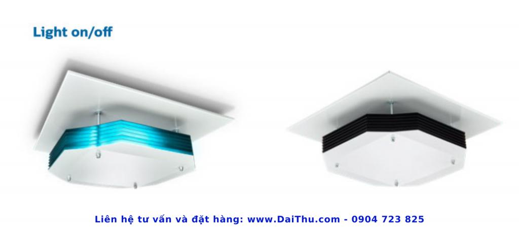 Đèn khử trùng không khí UVC Philips - Gắn trần cao lắp nổi - DaiThu.com - 0904 723 825 - Diệt khuẩn không khí hiệu quả 2