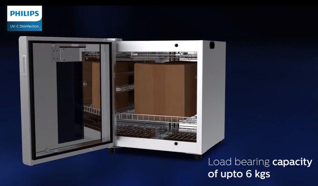 Buồng khử trùng UV C Chamber PHILIPS 80W UVCC200 112L khử khuẩn các vật dụng văn phòng & tài liệu & tiền