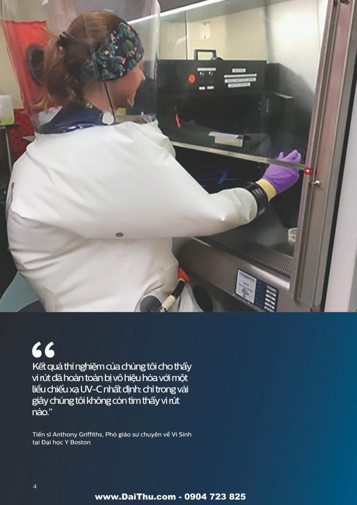 Giải pháp đèn UVC Philips khử trùng diệt khuẩn an toàn 2020 2021 04