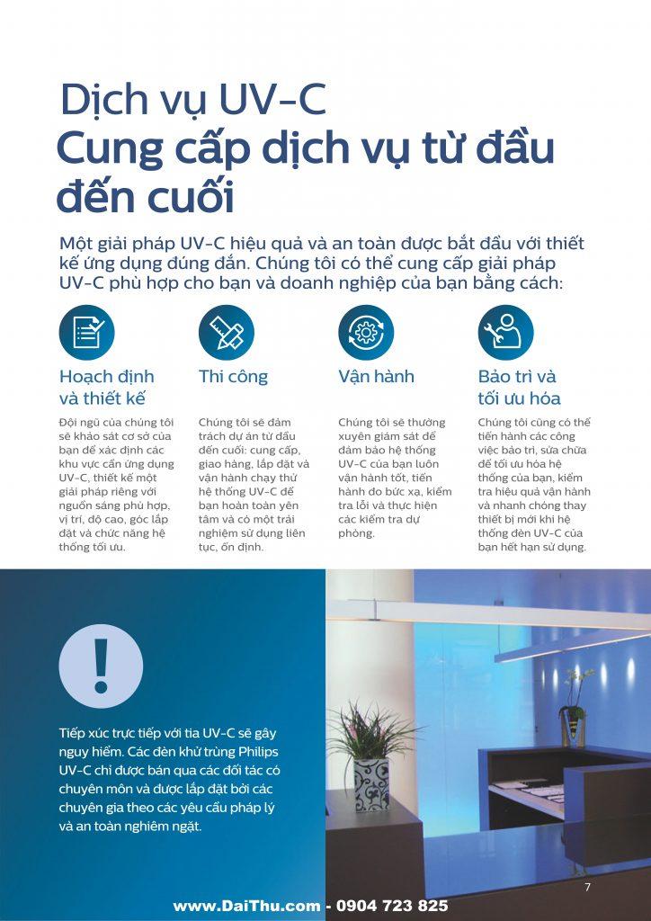 Giải pháp đèn UVC Philips khử trùng diệt khuẩn an toàn 2020 2021 07