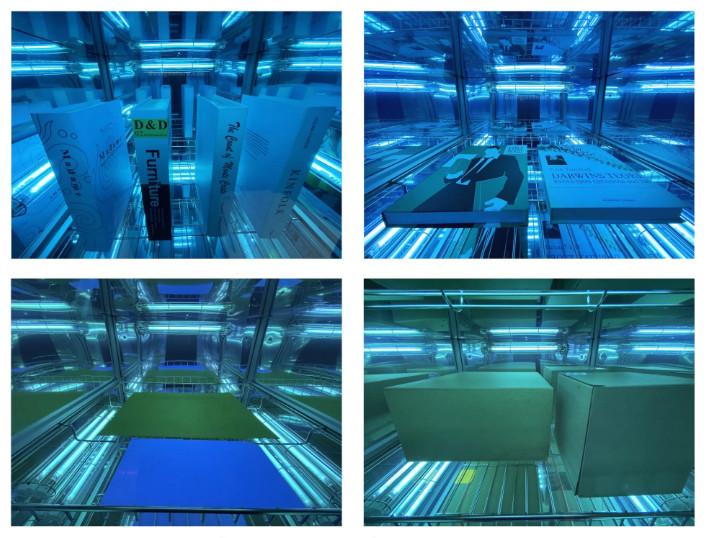 Tủ khử trùng UV C Chamber 68W UVCC100 77L khử khuẩn các vật dụng văn phòng