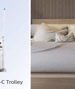 Giải pháp khử trùng Khách sạn Nhà hàng Resort - Đèn UVC diệt khuẩn Philips Trolley