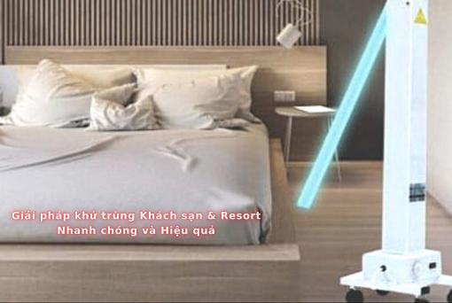 Giải pháp khử trùng khách sạn resort diệt khuẩn buồng phòng Philips Trolley Hotel (1)