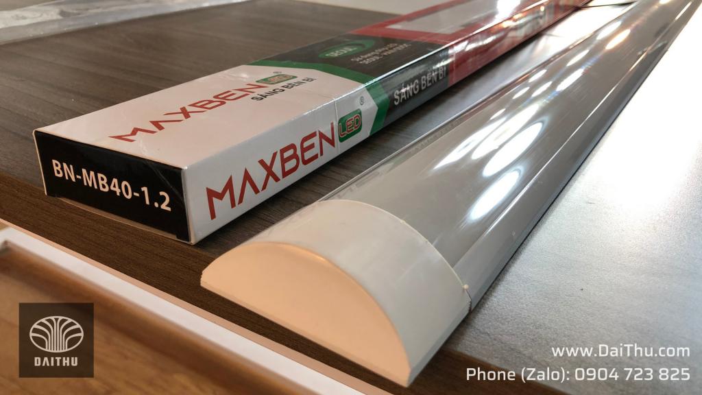Mã đèn BN-MB40-1.2 Đèn tuýp Led bán nguyệt 1m2 40W Maxben chip Led Seoul Hàn Quốc