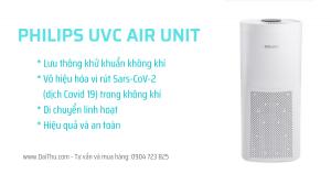 Philips UVC Air Unit bộ khử khuẩn không khí di động UVCA100 84W & UVCA200 120W DaiThu Company 0904723825 New