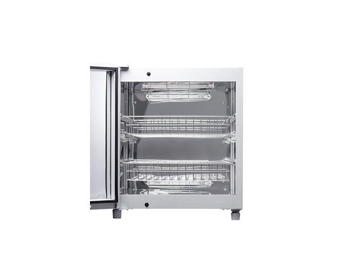 Bên trong tủ khử khuẩn tiệt trùng UVC PHILIPS UVCC200 được thiết kế bởi các khung chắc chắn