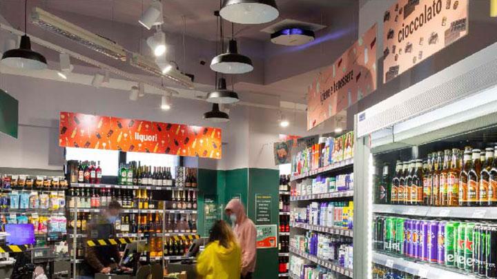 Khử khuẩn Siêu thị & Chuỗi cửa hàng bằng đèn UVC Philips - UVC Disinfection for Market & Retail - DaiThuCom