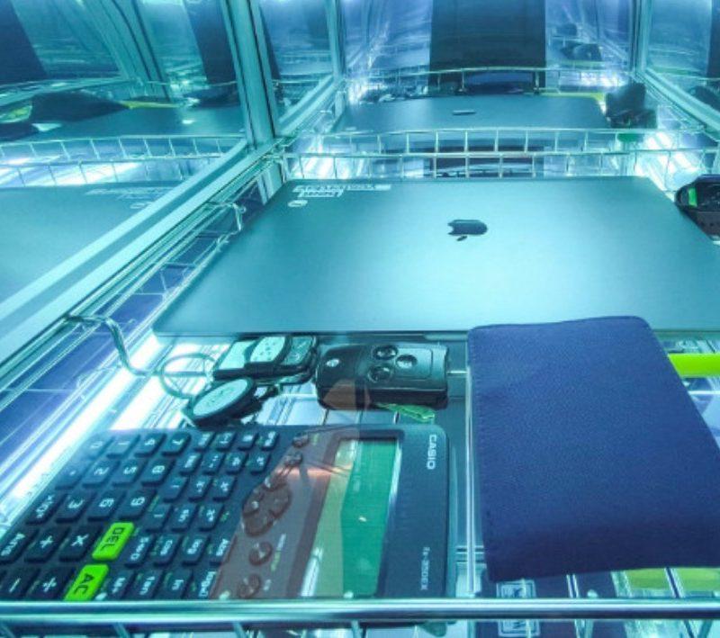 Tủ khử trùng UV C Chamber 68W UVCC100 77L khử khuẩn các vật dụng văn phòng & tài liệu & tiền